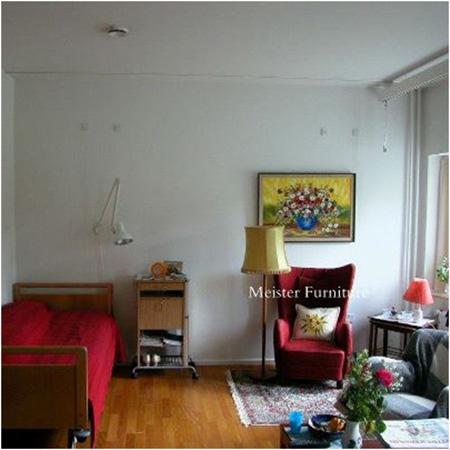 北欧の高齢者の居室