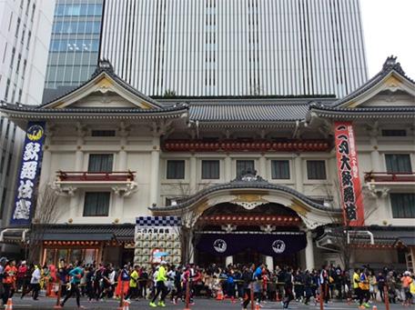 歌舞伎座前