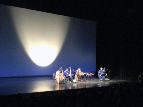 モンゴル音楽と着物ショー