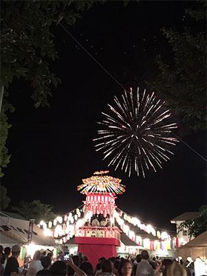 八幡神社の夏祭り