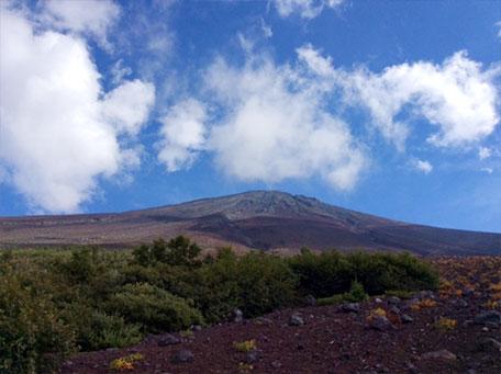 9月の富士山