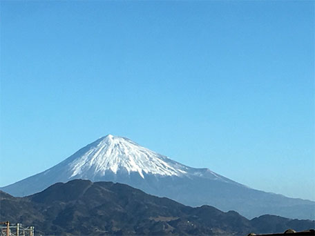 2018年 初富士山