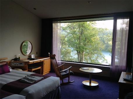 ホテルエルボスコの部屋