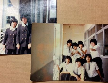 静岡の学生時代