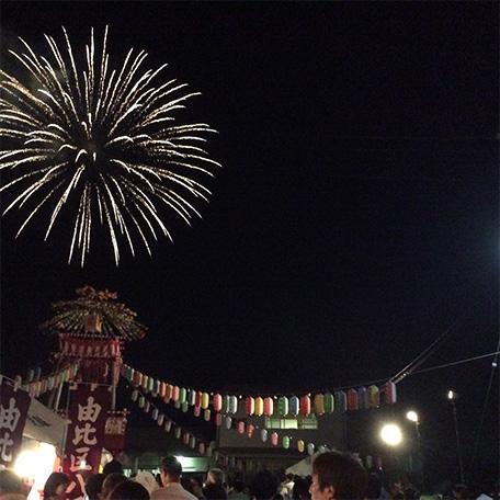 飯田八幡宮の夏祭り